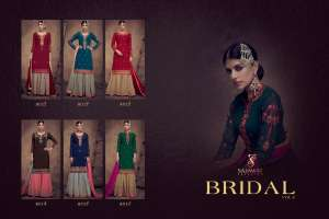 1201 SAJAWAT CREATION BY BRIDAL VOL - 2 SARARA COLLECTION 8011 TO 8016 SERIES