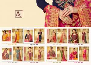1210 ALOK SUIT BY ROOP WEDDING COLLECTION 364-001 TO 364-008 SERIES