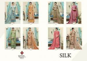1220 TANISHK FASHION BY SILK FRENCH CRAPE COLLECTION 11601 TO 11608 SERIES