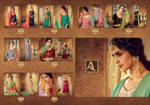 1223 ALOK SUIT BY KESARI WEDDING COLLECTION 290-001 TO 290-008 SERIES