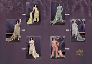 1228 ZOYA EMOTIONS SHADES VOL-2 PARTY WEAR SUIT COLLECTION 25011 TO 25016 SERIES