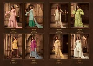 1229 ZOYA MOMENTS PARTY WEAR SUIT COLLECTION 29001 TO 29008 SERIES