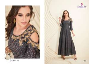 1076 ARIHANT PALCHU VOL 6 KURTI COLLECTION 1049 TO 1056 SERIES