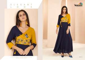 1127 VARDAN GULNAZ VOL-3 KURTI COLLECTION 6021 TO 6029 SERIES