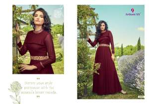 1182 ARIHANT BY  FLOSS KURTI GOWN COLLECTION 33001 TO 33008 SERIES